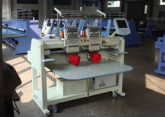 2 Heads Embroidery Machine For Hats And Shirts 1000000 Stitches