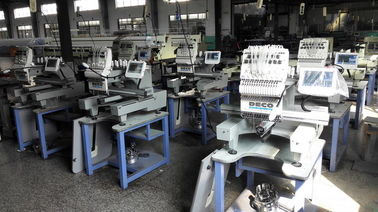 High Efficiency Single Head Embroidery Machine Emb. Area 560 X 370mm